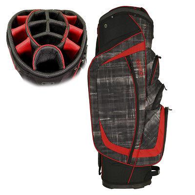 OGIO Men's 2017 Shredder Golf Cart Bag Paranormal/Red