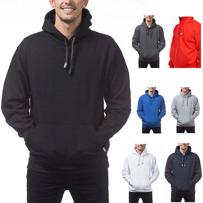 - 1 NEW PRO CLUB HEAVY WEIGHT PULLOVER HOODIE SWEATSHIRTS HOODED HOODY SIZE S-7XL