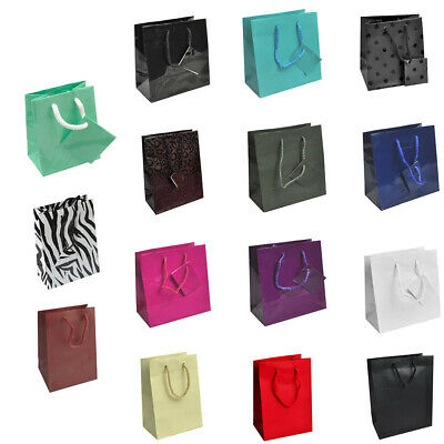 Colored Paper Bags (Paper Bag Gift Shopping Bags with handles Paper Gift Bags ~ 11 Colors 4)