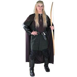 Legolas Costume Adult Lord of The Rings Elf Halloween Fancy Dress  sc 1 st  eBay & Legolas Costume | eBay