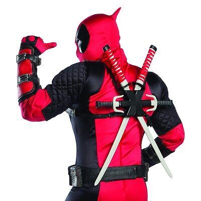 Halloween Costume Weapons (Deadpool Weapons Kit Superhero Costume Halloween Fancy)