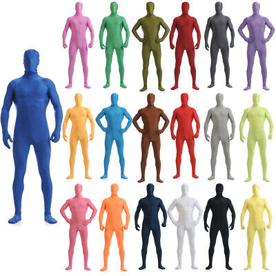 Skin Costume Kids (Second Skin Unisex Kids Child Full Body Suit Costume Spandex Zentai)