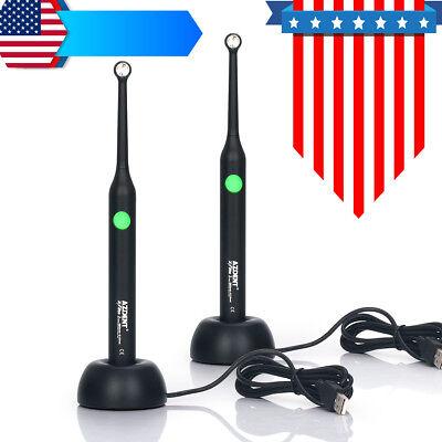 2 Box Dental Resin Cure 2300mw Led Curing Light Lamp 385 - 515nm Spectrum Black