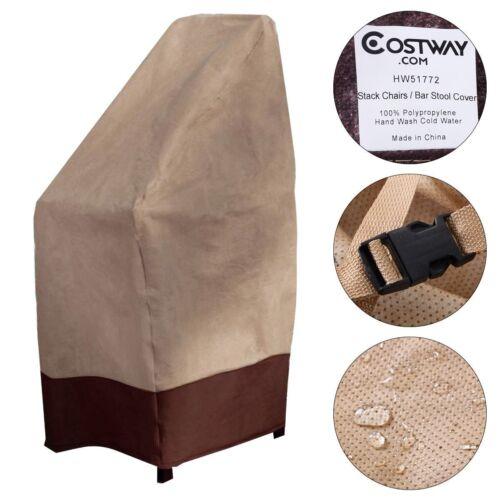 Waterproof Bar Stool Cover Outdoor Patio Garden Furniture Pr