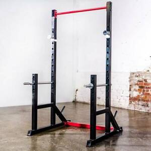 Armortech Squat Rack, Bar and Plates Package