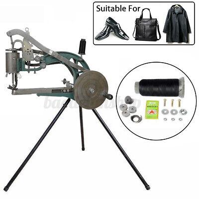 Hand Cobbler Shoe Repair Machine Manual Making Sewing Cotton Leather Nylon Line