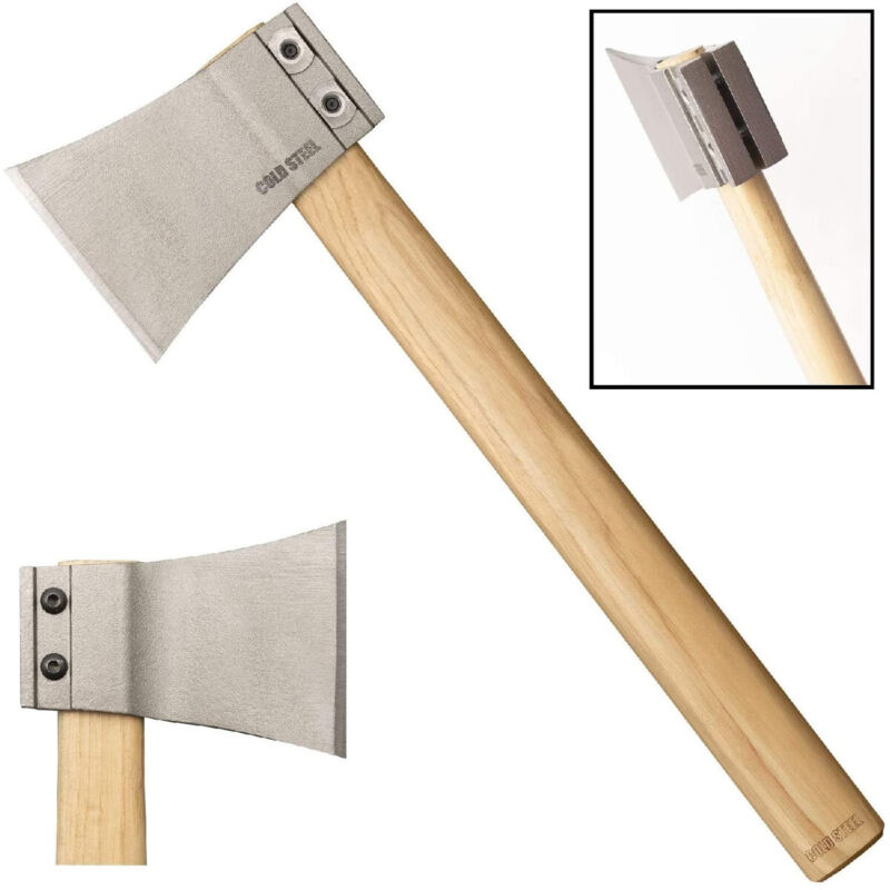 Cold Steel 90AXA Professional Throwing Hatchet Axe Blade with Removable Handle