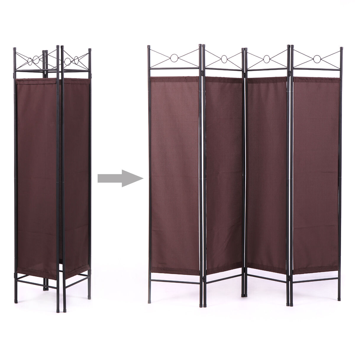 Room Divider Screen 4 Panel BN Folding Partition Privacy Roo