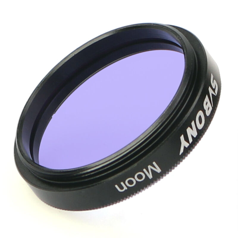 """SVBONY 1.25"""" Telescope Eyepiece Moon Filter for Astro Moon&Planets Observation"""