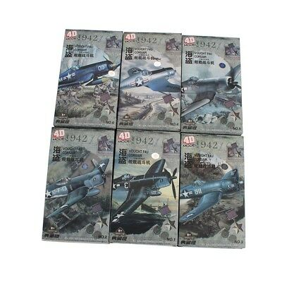 4D Model 1:48 VOUGHT F4U CORSAIR 6pcs Fighter Models Military Assemble Kit for sale  Shipping to Canada