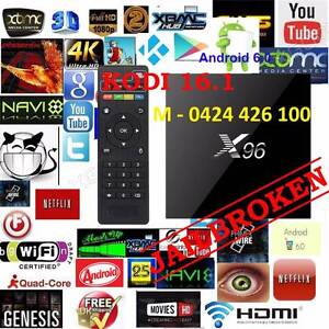 Best selling Android 6 tv box X96 S905X 4K Kodi 1gb/8gb OTT wifi Noble Park Greater Dandenong Preview