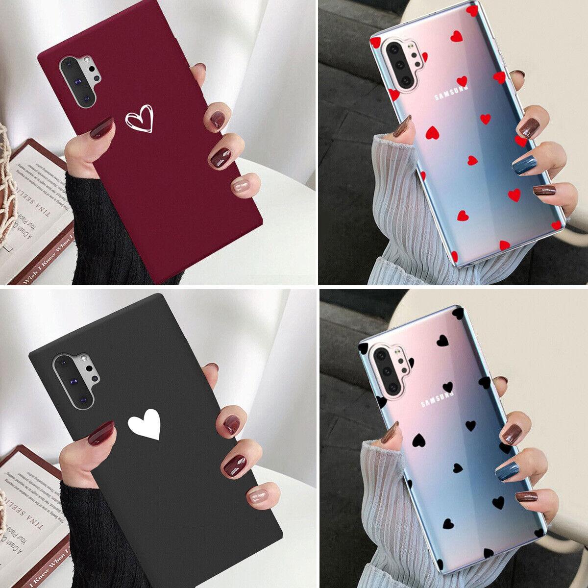 Samsung Galaxy Note 10 Plus Note 10 Ultra Slim Case Heart Pr