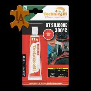 alta-temperatura-Silicona-300-C-SAAB-resist-AL-CALOR-Adhesivo-Sellador-ROJO