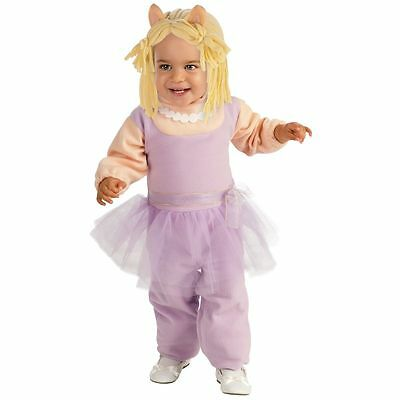 Missy Piggy Costume Baby Toddler Muppets Halloween Fancy Dress INFANT - Muppet Halloween Costumes Babies