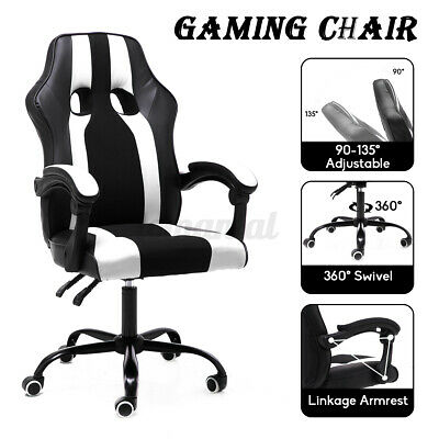 Office Chair Gaming Chair Recliner Racing High-back Swivel Task Executive Chairs
