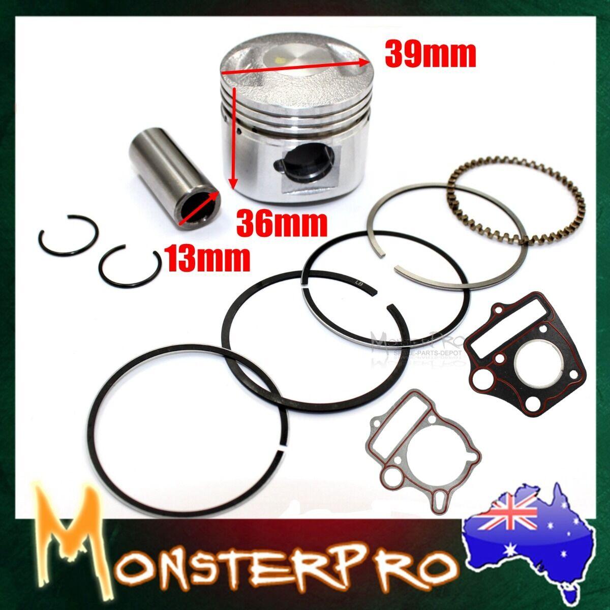 54mm Piston Rings Kit Set 125cc engine  PIT  QUAD DIRT BIKE Atomik Thumpstar