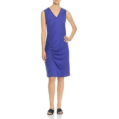 Kenneth Cole Women's Ruched Jersey V-Neck Sleeveless Tank -