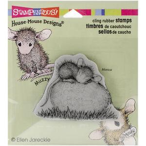 Stampendous House-Mouse Cling Stamp - Easter Egg Nap HMCV12