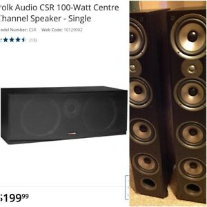 Polk Audio 650watts Speaker System