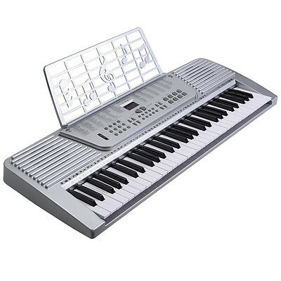 New 61 Key digital Electronic Music Keyboard Electric Piano Organ White on Rummage