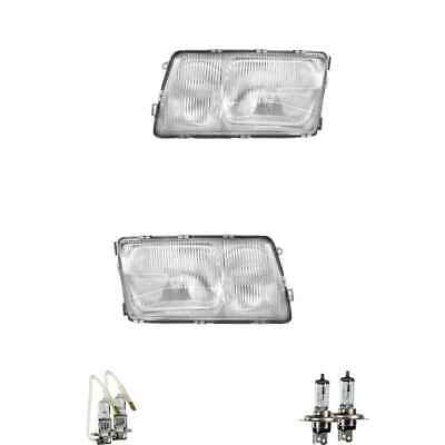 Halogen Scheinwerfer Set H4/H3 für Mercedes-Benz S-Klasse inklusive Lampen