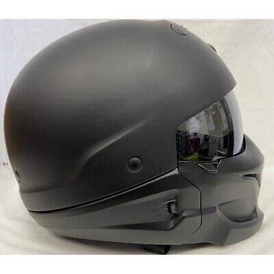 Scorpion Covert Motorcycle Helmet Matte (FLAT) Black Size Large L SAMPLE -NO BOX