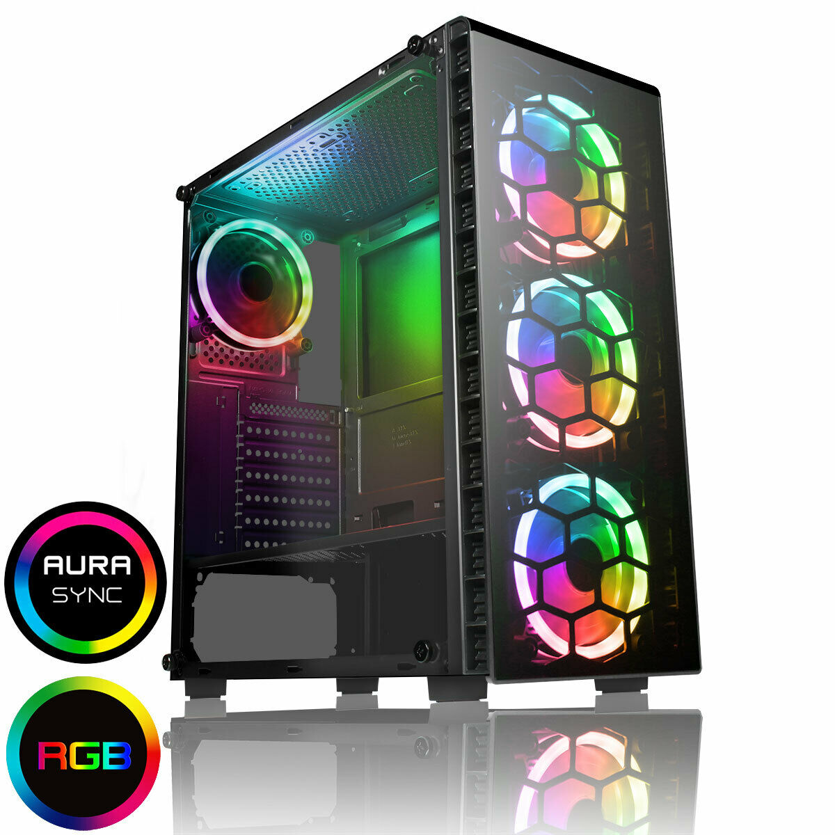 Computer Games - FAST Quad Core i7 GTX 1650 Gaming PC 16GB RAM Windows 10 Desktop Computer 2TB