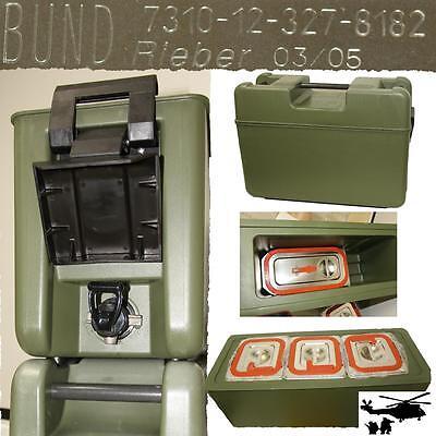 Original Bundeswehr Rieber Transportbehälter für 5 Personen 119€ Thermobox