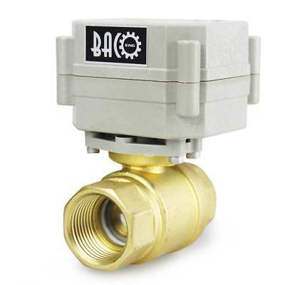 Bacoeng 34 Dn20 12v24v936v Brass Electric Motorized Ball Valve Water Valve