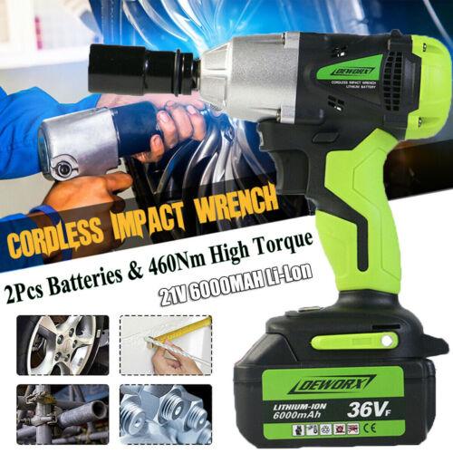 """DeWALT 20V 20 Volt Lithium Ion Cordless 1/2"""" Impact Wrench D"""