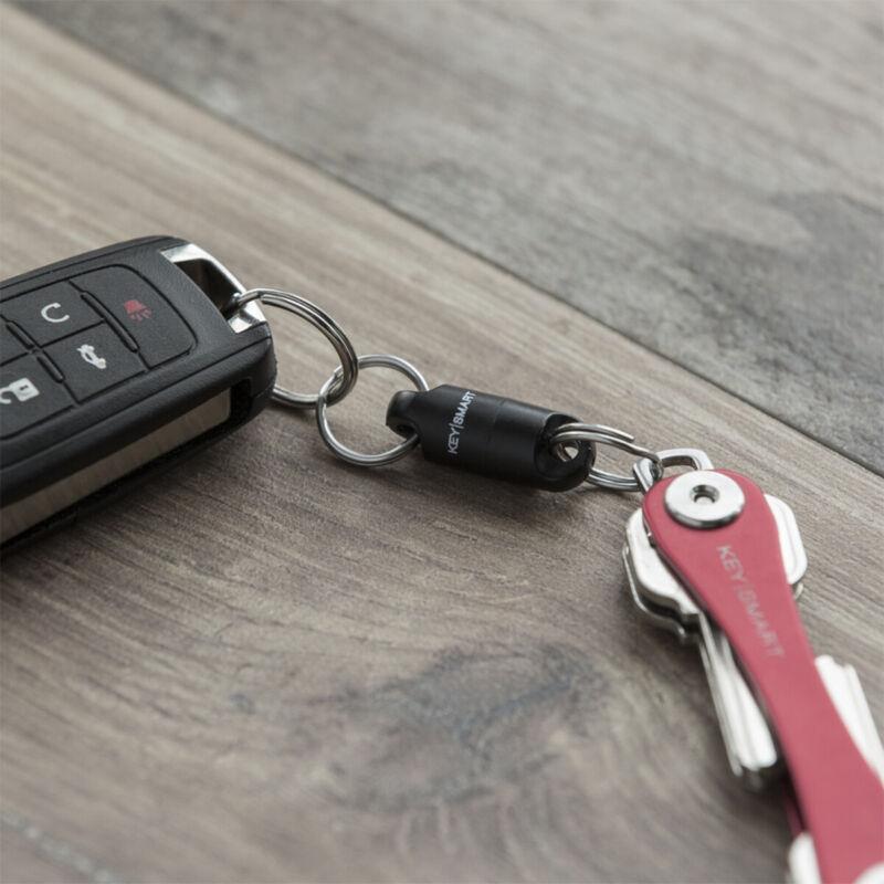 Keysmart MagConnect Magnetic Keychain - Black