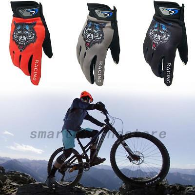 Men Ladies Cycling Bicycle Mountain Bike Gloves Cycle Full Finger Mitts US