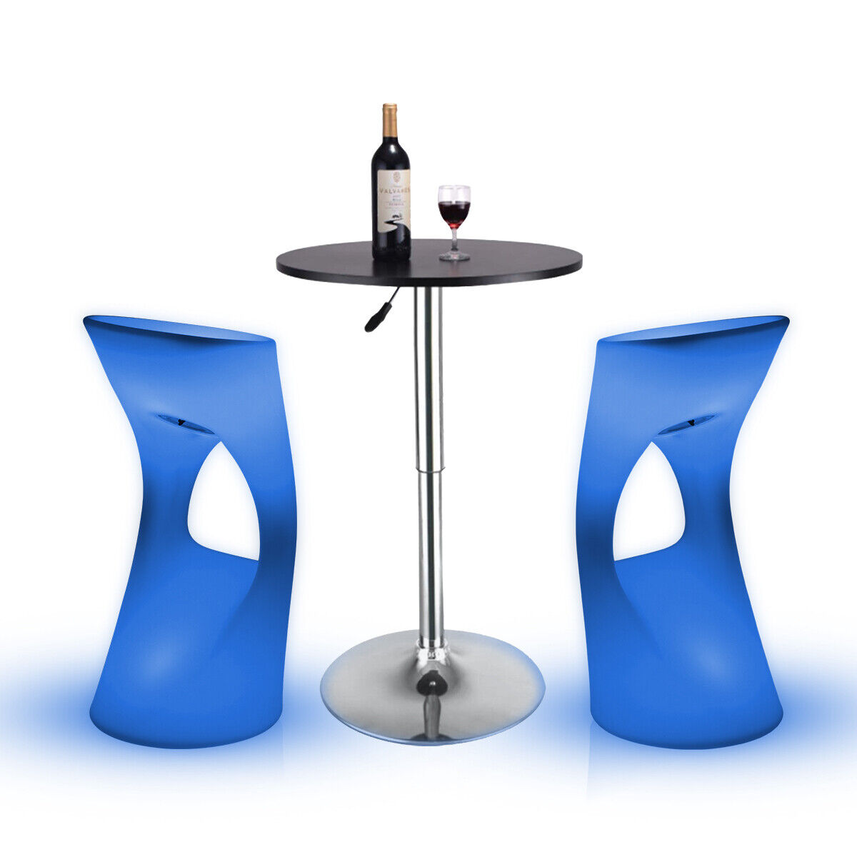 Changing LED Light Up Furniture Chair Bar Stool Barstool Pub Club Lounge Party