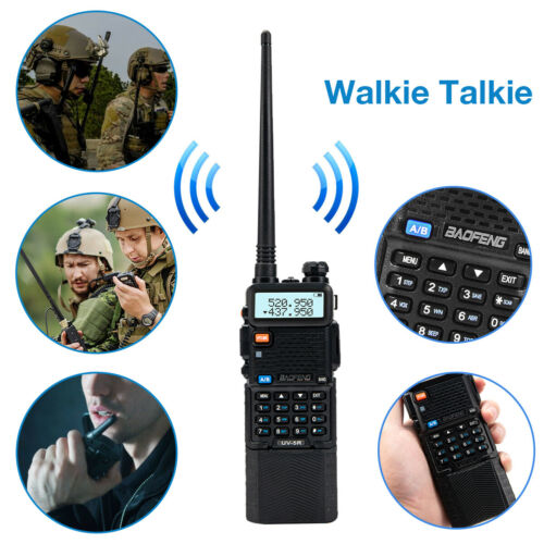 Police Fire Radio Two Way Scanner Transceiver Portable F-Ant