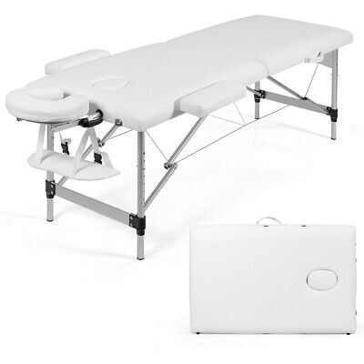 "Portable Massage Table 73"" Adjustable Folding Salon Spa Mass"