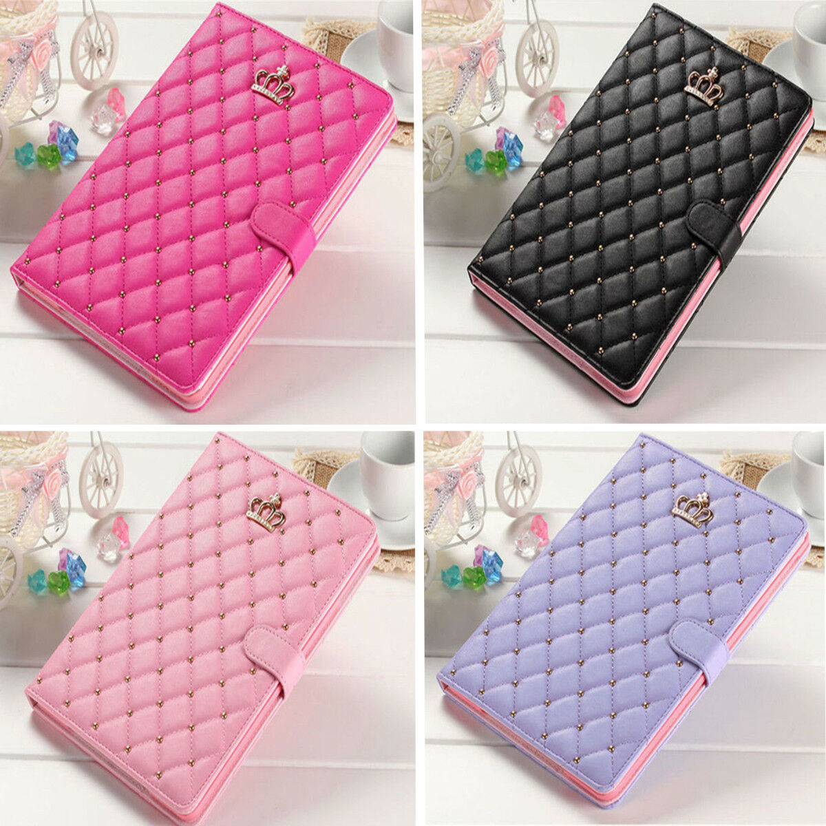 "New iPad 9.7"" 6th Generation 2018 Girls Cute Smart Cover Sle"