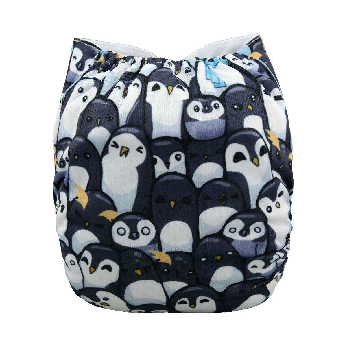 ALVABABY Reusable Baby Cloth Diapers OneSize Washable Pocket Nappies With Insert YD76