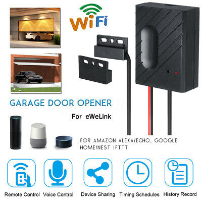 🔥 Car Garage Door Opener Smart APP WiFi Switch Garage Door Remote/Voice Control