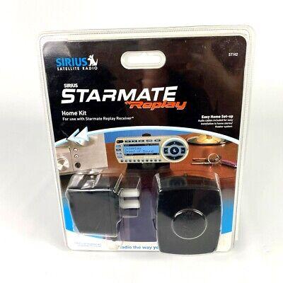 Sirius Satellite Radio Starmate Replay Home Kit - Model STH2 Factory Sealed./HR5