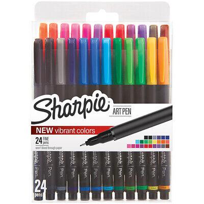 Sharpie Fine Point Art Pen Whardcase 24pkg-assorted 1983967