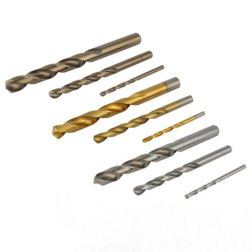 HSS Spiral Edelstahlbohrer Metallbohrer Cobaltbohrer Durchmesser 1-13 mm G/Co5/T