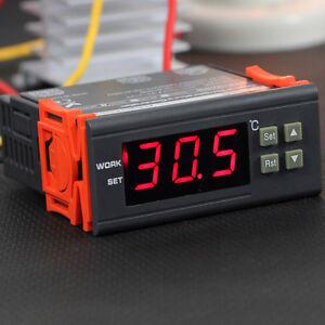 DC 12V 10A Digital Temperature Controller Thermostat Control w/ Sensor Aquarium