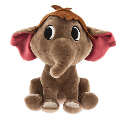 DISNEY STORE FURRYTALE FRIENDS PLUSH JUNGLE BOOK HATHI JR. FLEXIBLE EARS & LIMBS