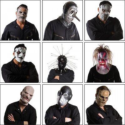 Slipknot Mask Costume Accessory Adult Slipknot Halloween](Slipknot Masks)