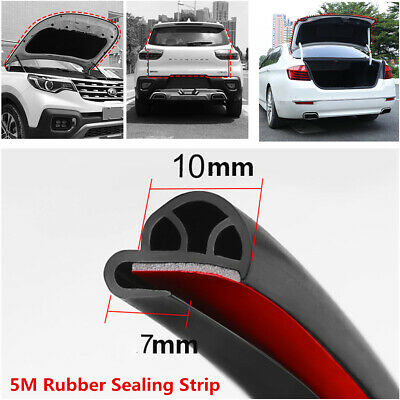 "196"" Durable Black Rubber RV Boat Car Door Trunk Lip Edge Protector Sealed Strip for sale  Shipping to Canada"