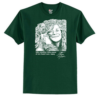 Janis Joplin Women's T-Shirt ---- Take Another Little Piece Of My Heart Now (Take Another Piece Of My Heart Now Baby)