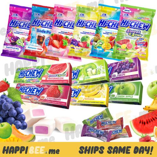 Hi-Chew Gummy Candy🍯Japanese Asian Chewy Fruit Snacks Gummies