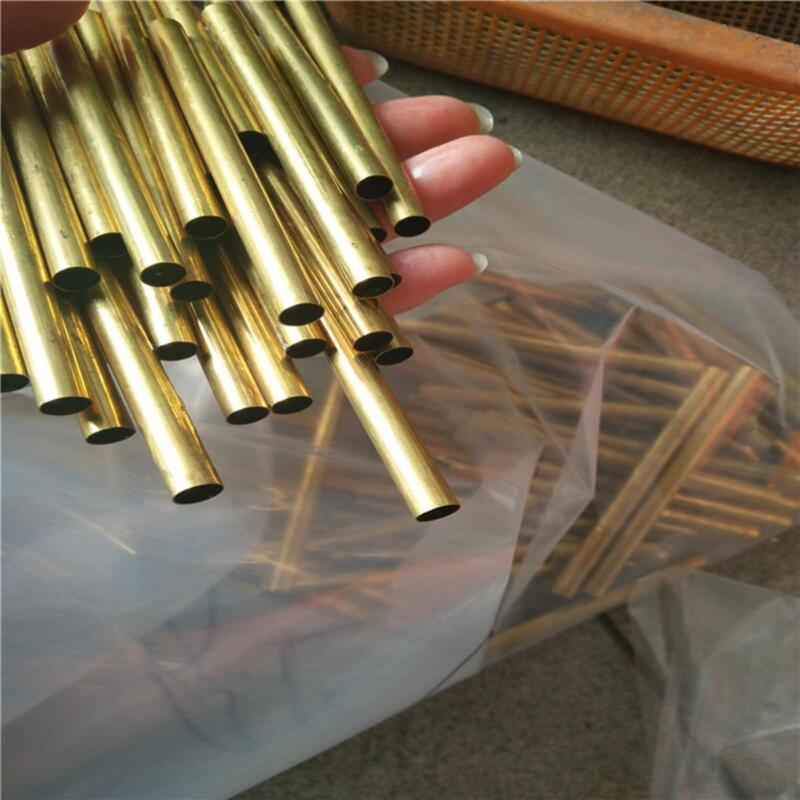 """US Stock 8pcs 4mm OD 3mm ID 0.5mm Wall 9.85"""" Long H62 Brass Tube Pipe"""