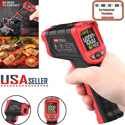 Lcd Thermometer Digital Infrared Temperature Gun Meter Pyrometer Ir Laser Point