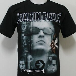 linkin park hybrid theory t shirt 100 cotton new size s m. Black Bedroom Furniture Sets. Home Design Ideas